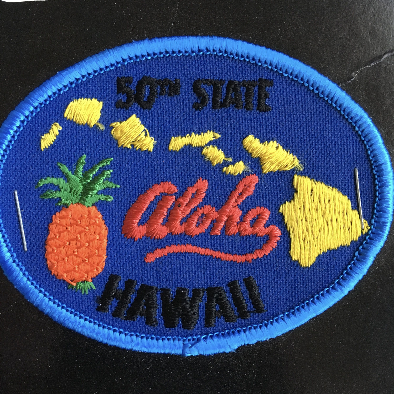 Vintage Hawaii Patch
