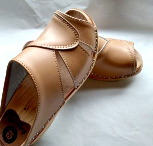 97c231aea9c2 MARIAH open toe clog sandal in SAND with the ORIGINAL SOLE