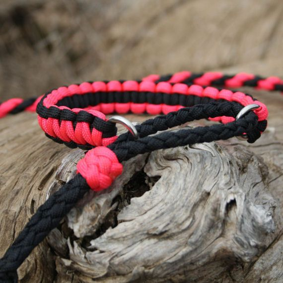 Diy Adjustable Paracord Dog Collar With Matching Leash
