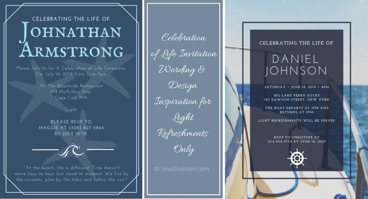 Celebration Of Life Ideas Beach Themes Celebrities Poems About