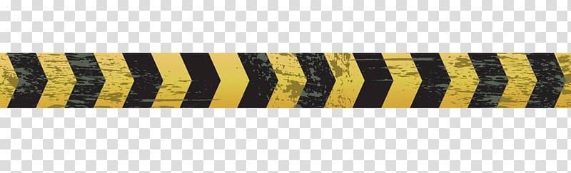 Yellow And Black Arrow Heads Adhesive Tape Barricade Tape Mottled Traffic Warning Belt Transparent Background Png Clipart Transparent Background Clip Art Png