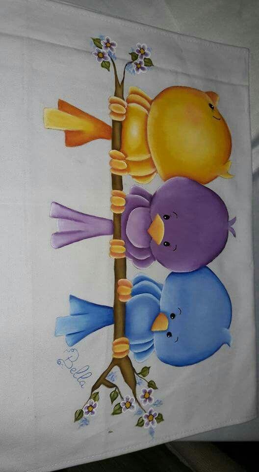Encontrei aqui achei delicado e lindo dibujos pintura - Dibujos para pintar en tela infantiles ...