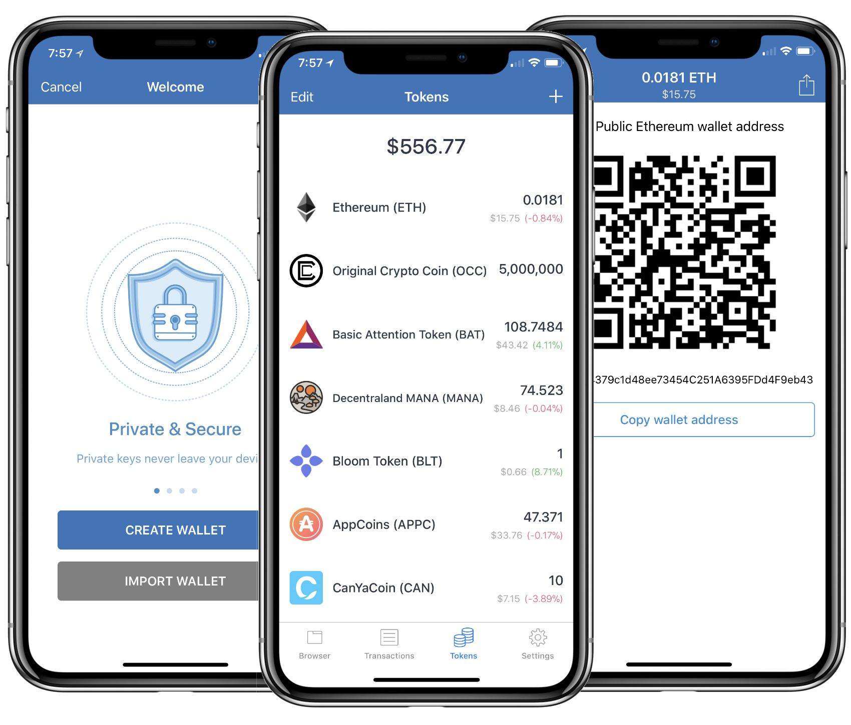 android cryptocurrency wallet