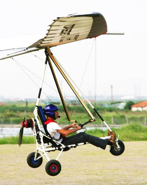 Powered Hang Glider Trike Learn Hang Gliding In Nz