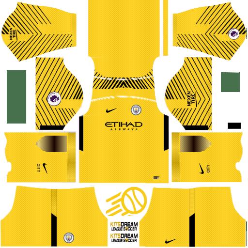 Kits Manchester City Dream League Soccer 2020 2019 En 2020 Uniformes De Futbol Uniformes Soccer Manchester City