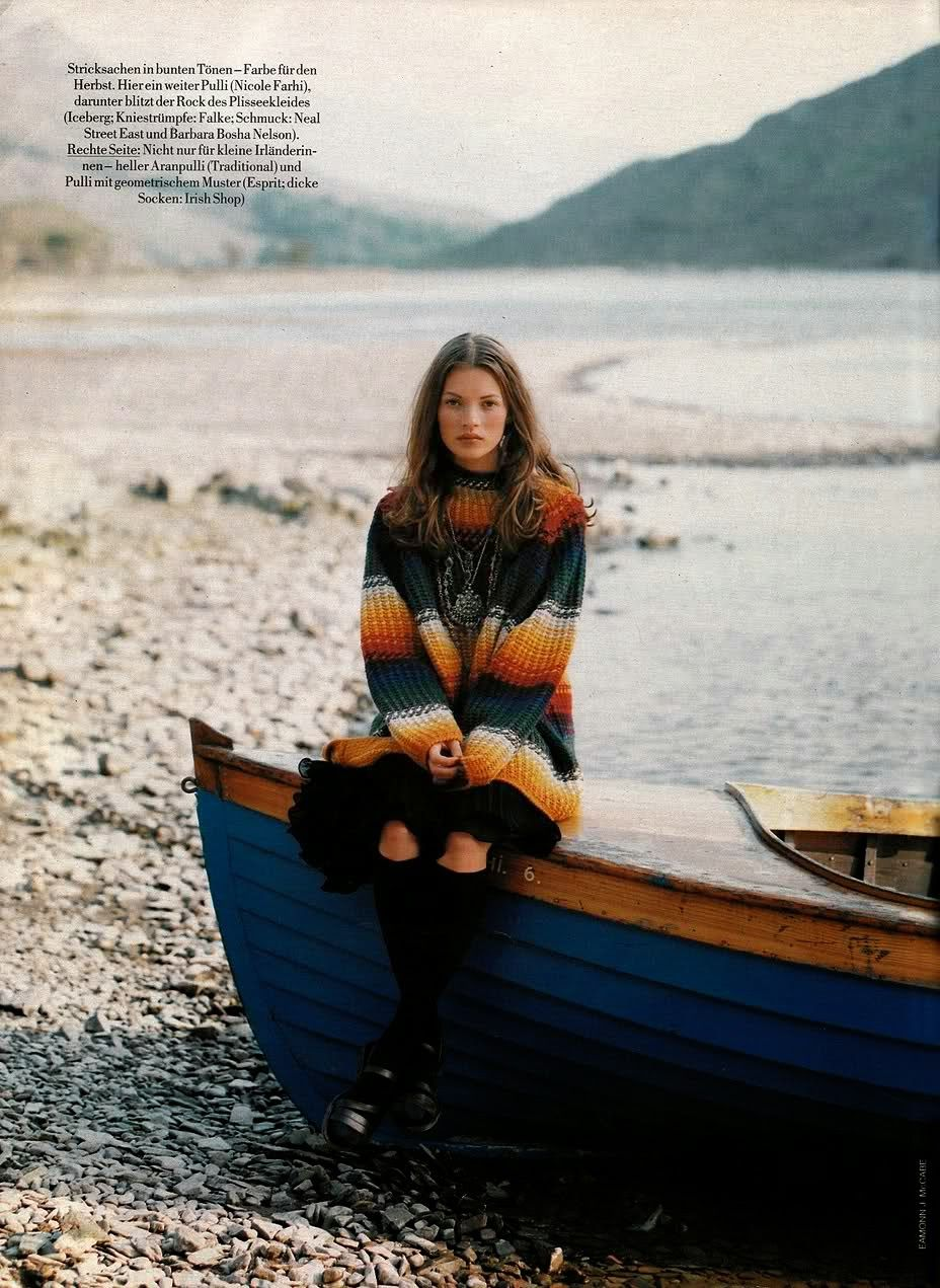 Herbst In Island By Eamonn Mccabe Marie Claire Germany October 1992