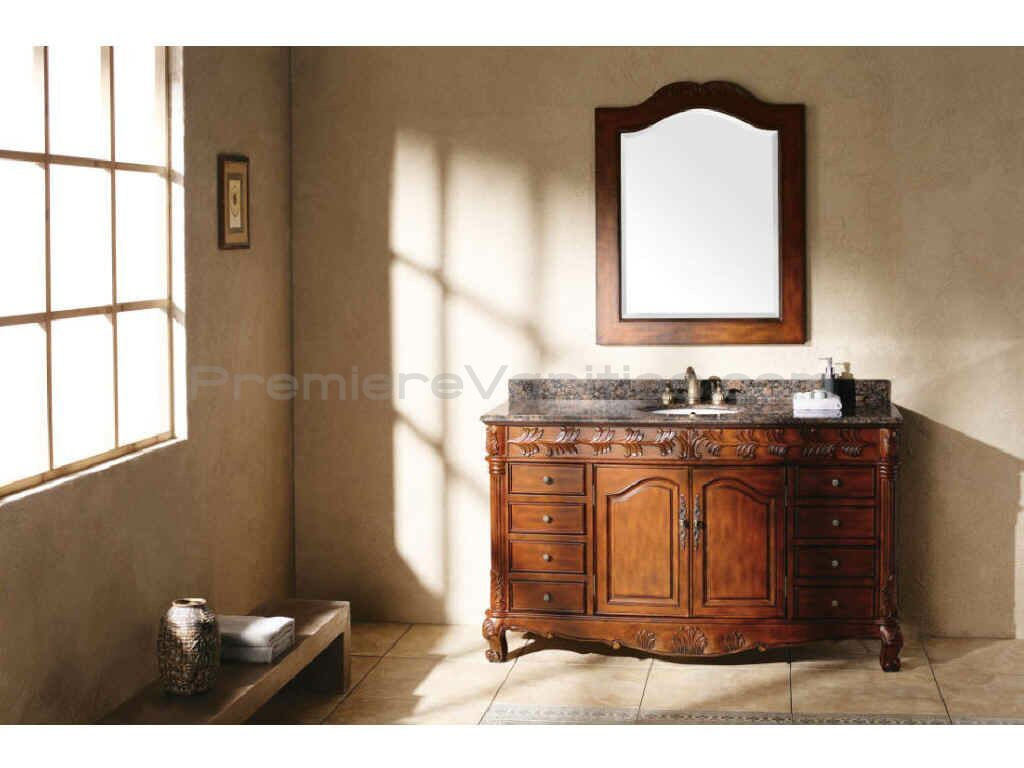 Lovely Tuscan Bathroom Vanity Cabinets