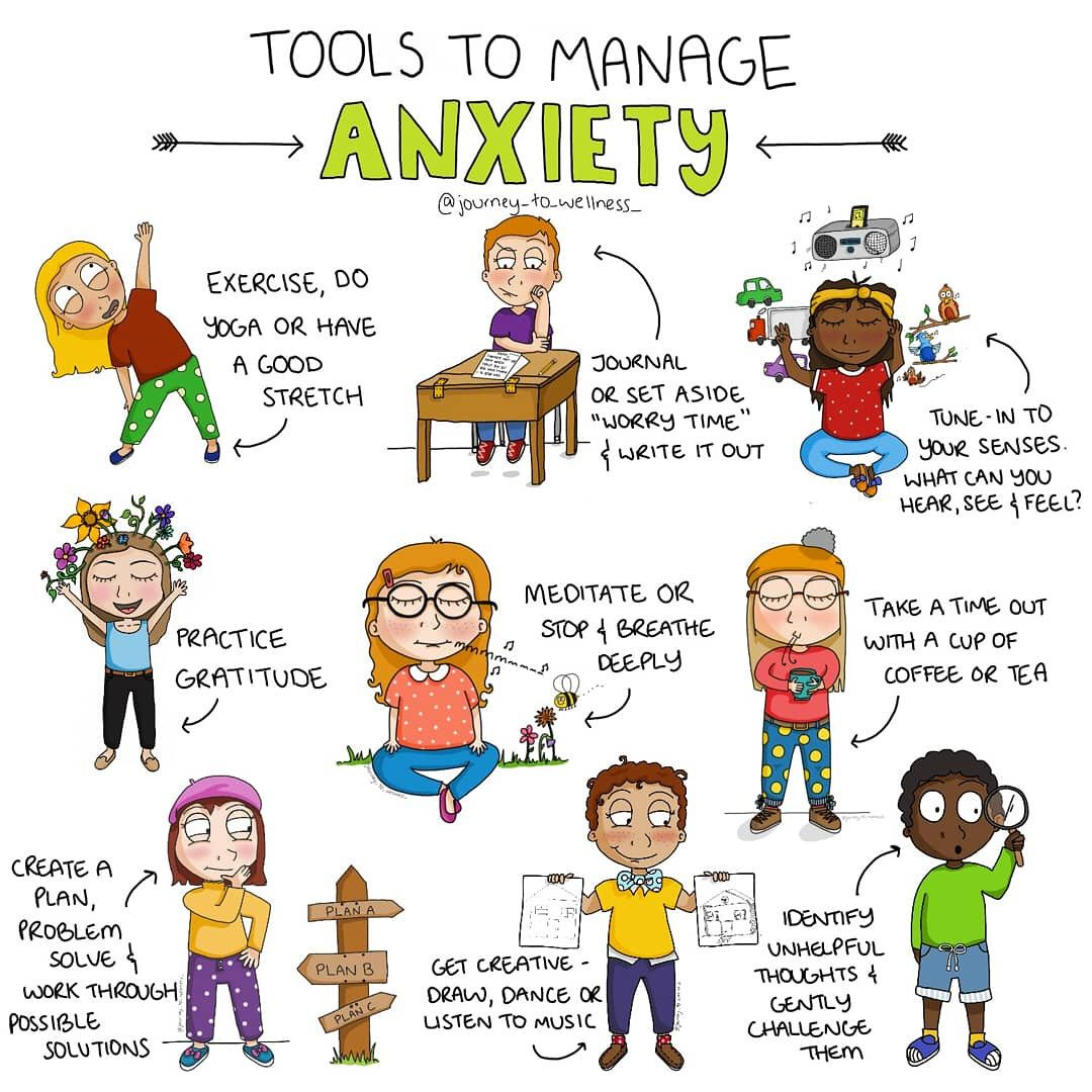 Tools to Manage your Anxiety