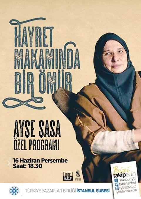Twitter'da #aysesasa etiketi