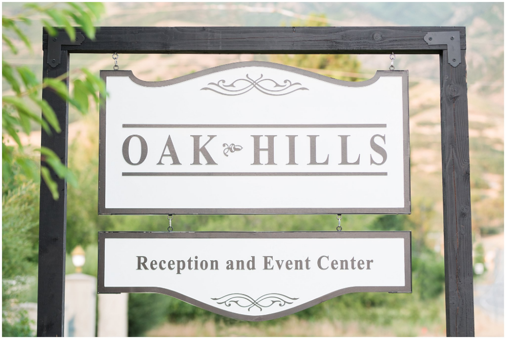 Shout-Out Saturday with Oak Hills Reception and Event Center | Wedding venues utah, Oak hill ...
