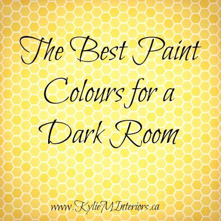 The Best Light Paint Colours for a Dark Room / Basement | Basements ...