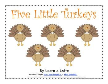 Thanksgiving and Turkey Class Books and Literacy Activities