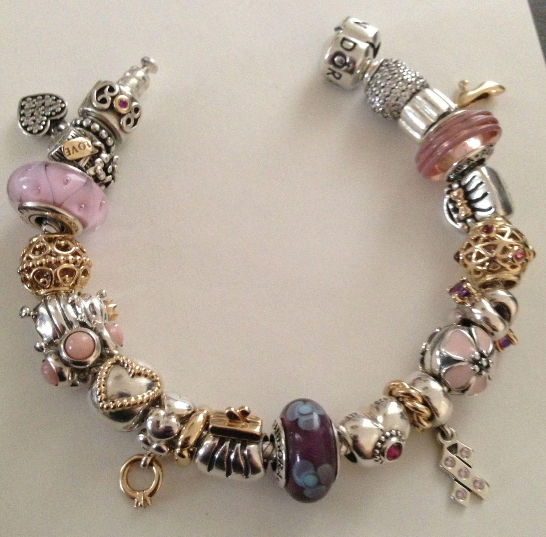 Pink pandora | Pandora jewelry ️ charm bracelets | Pinterest  Pink pandora | ...