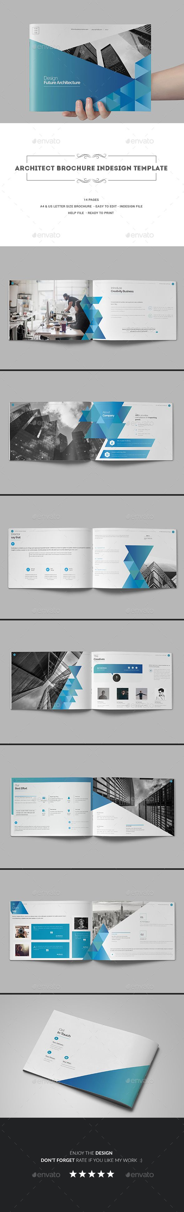 Architect Brochure Indesign Template   Brochures, Indesign templates ...