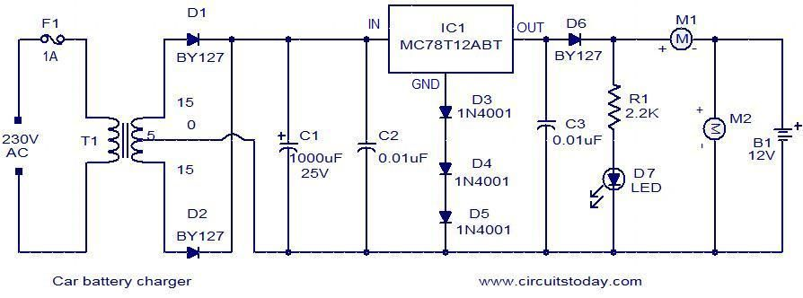 917b12f024ff6ec750c90c1fd663114e description given below, is a very simple circuit that can be car charger wiring diagram at soozxer.org