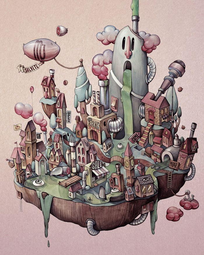 https://goo.gl/qnYk6p byMarija Tiurina: Floating Island.