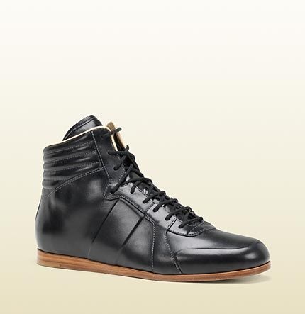 sporting lace up bootie - Gucci