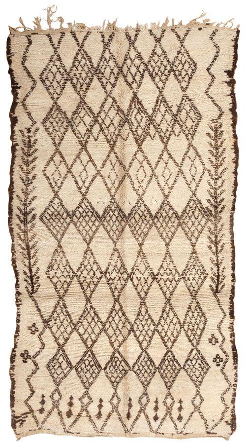 vintage moroccan oriental rug 44458 hand made in. Black Bedroom Furniture Sets. Home Design Ideas