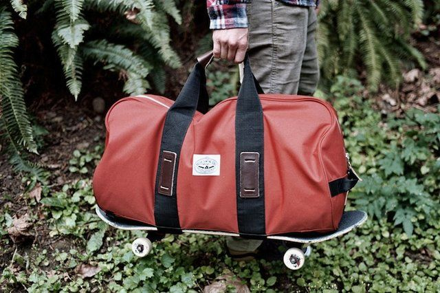 Skateboard Duffle Bag By Poler Finally I Have Something To Hold My