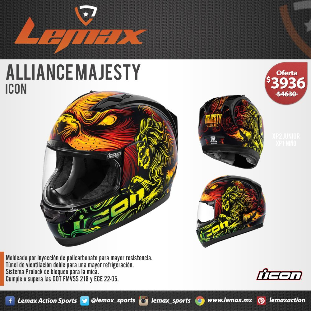 Casco Icon Alliance Majesty Cascos Cascos Cascos Icon