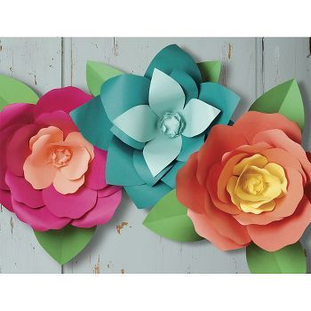 Great big paper flowers kit pinterest big paper flowers paper from our longtime love of paper flowers comes our new oversized flower kit create a burst of botanical color on your door or in your home with these mightylinksfo