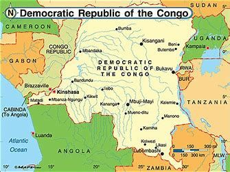 Image result for DR Congo Map   Africa in 2019   Congo, Republic of ...