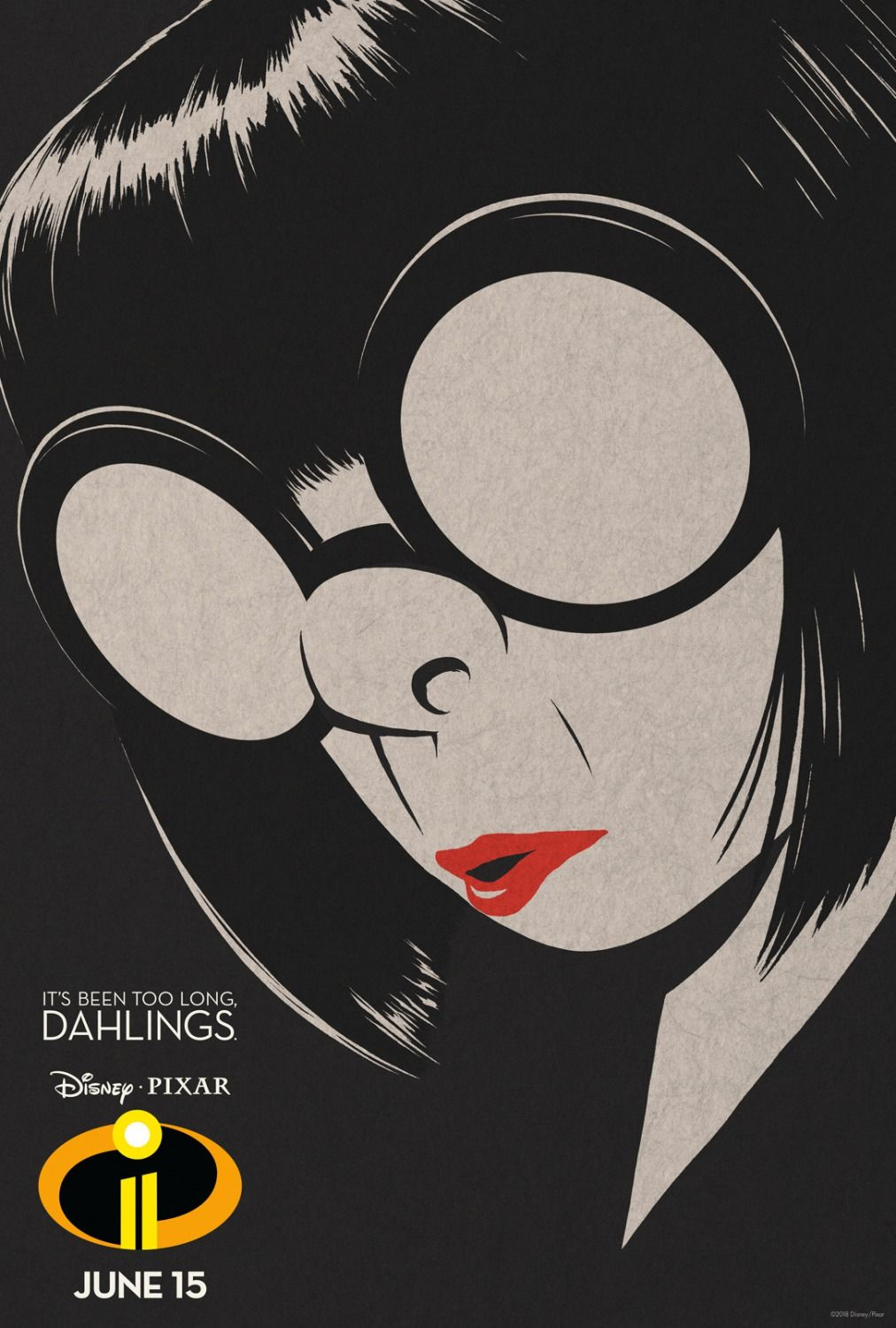 Incredibles 2 Edna Mode Disney Posters Movie Posters Design Movie Posters