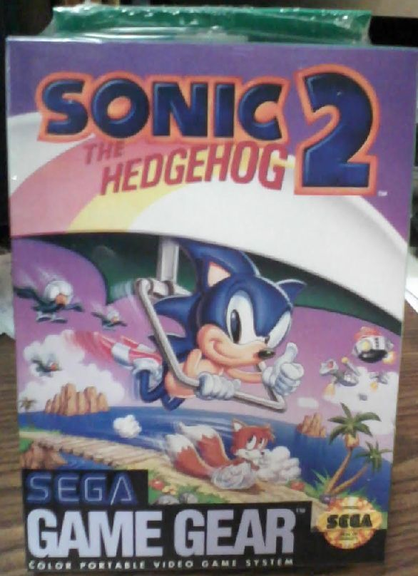 Sonic The Hedgehog 2 Sega Game Gear Sealed Brand New Gaming Gear Sega Games Sonic The Hedgehog