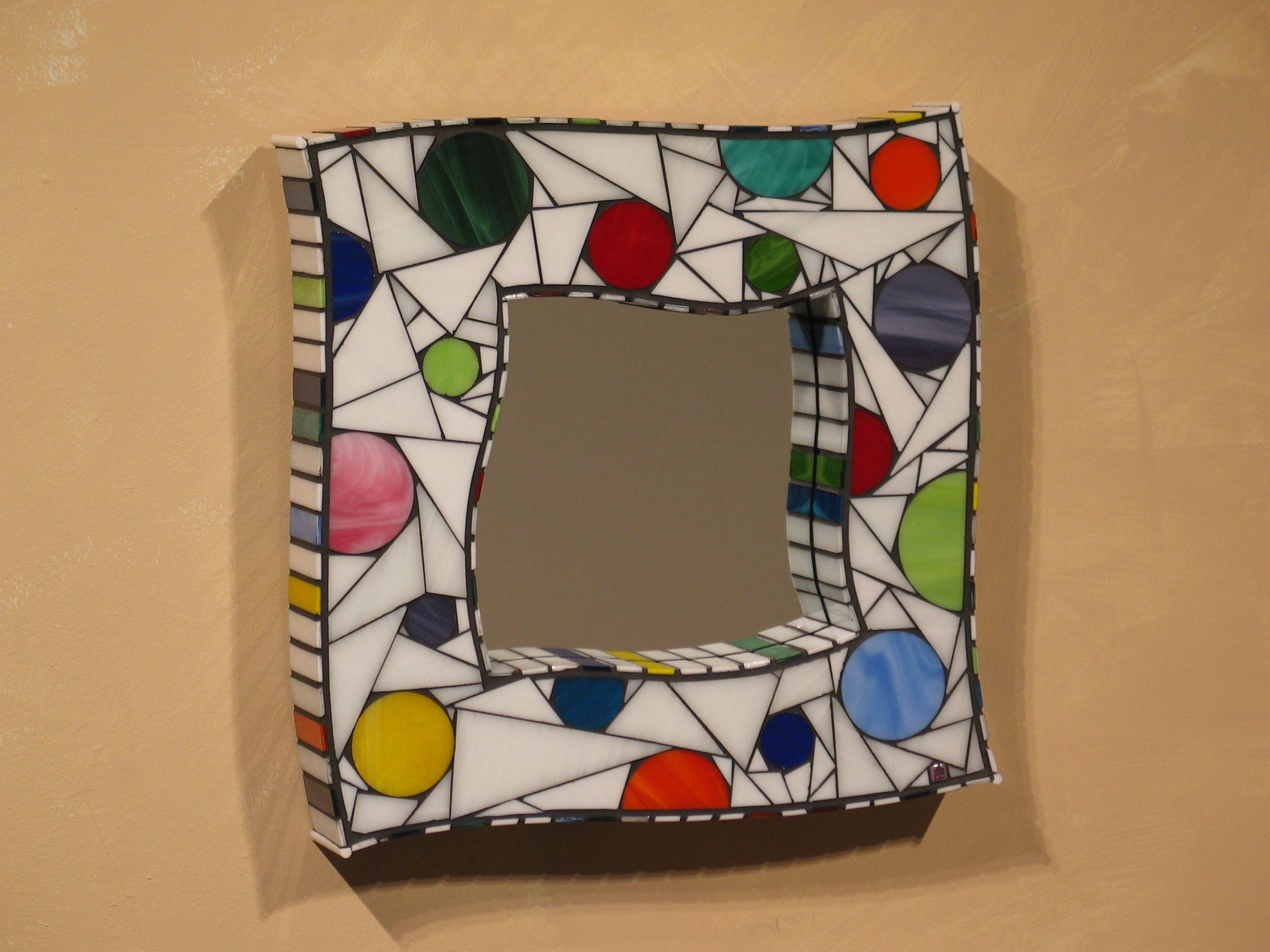 Mosaic mirror | mosaico | Pinterest | Mosaicos, Espejo y Vidrio