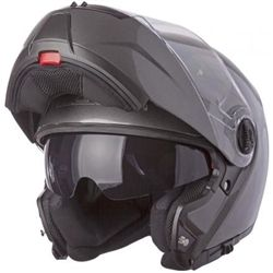 e32f36a390824 ... modular motorcycle helmet is built for motorcycle riders and is  lightweight and easy to use. Flip-up style helmet with inner sun-shield in matte  black.