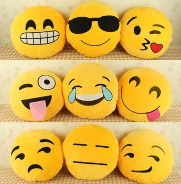 Pin On School Ideas Emoji Pillow Sewing