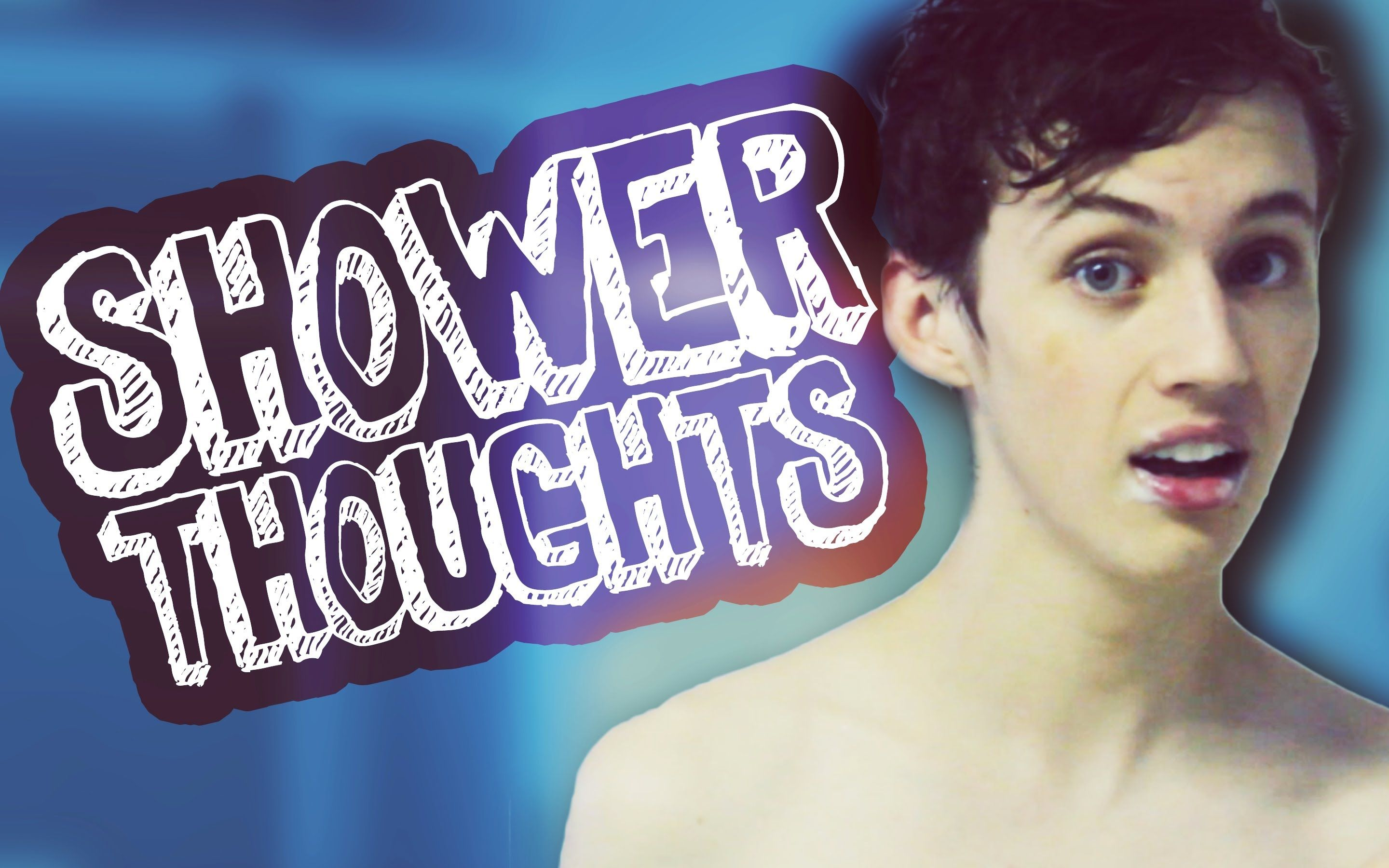 Thoughts In The Shower Youtube Funny Gif Songs