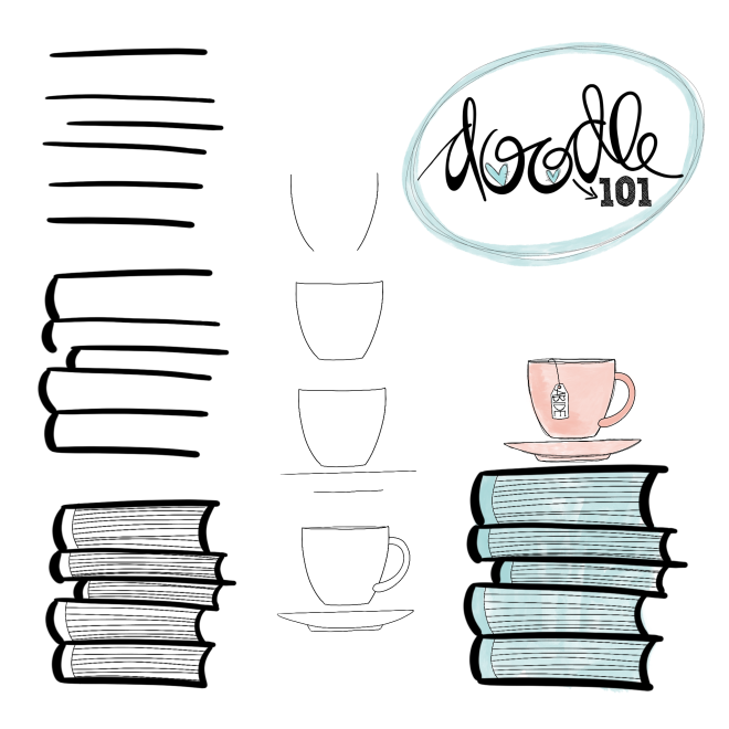 How To Draw Doodle Art Step By Step