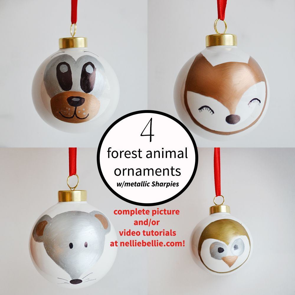 Sharpie ornaments | Sharpie, Ornament and Tutorials