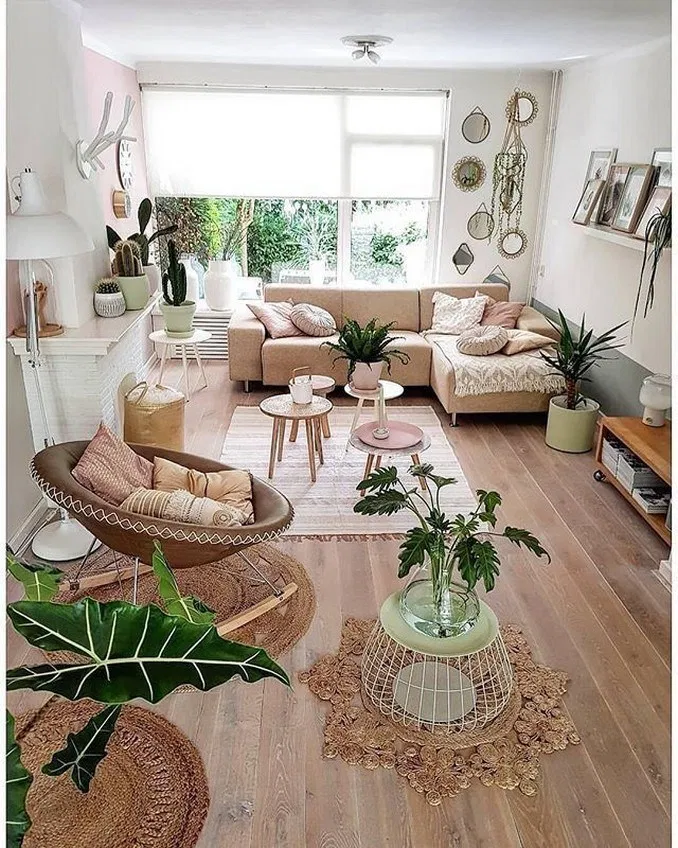 58 Modern And Most Popular Living Room Design Ideas For This Year Summer Living Room Bohemian Living Room Decor Summer Living Room Decor