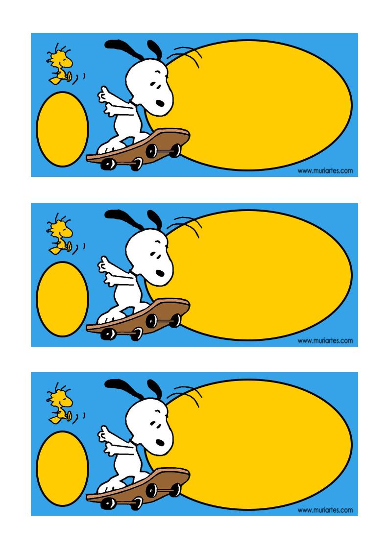 Imprimibles-Snoopy-2.png (794×1123) | Fiesta de minnie mouse ...