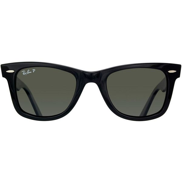 9a911eb668 Ray Ban RB2140 Original Wayfarer 901 58 Sunglasses (£89) ❤ liked on  Polyvore featuring accessories