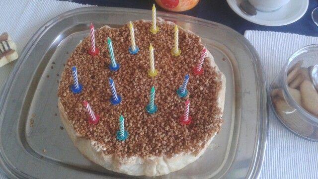 Heerlijke flan breseilline!!! Is zeker één van de lekkerste taarten die ik ooit gegeten heb! Ook totaal niet zwaar! Een echte maar dan ook échte aanrader!