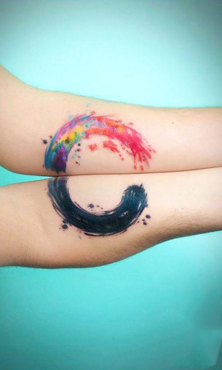 30 Matching Tattoo Ideas For Couples Mejores Tatuajes Para