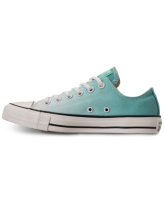 Converse Women s Chuck Taylor Ox Casual Sneakers from Finish Line - Green 5 cfef2cfbe