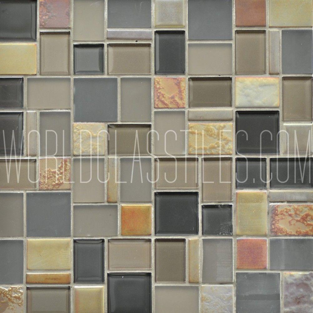 Mauna Loa Caldera Collection By Avenue Mosaic Glass Marble