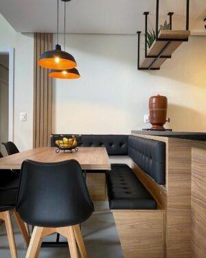 Prateleira de madeira: 75 inspirações para decorar a sua casa
