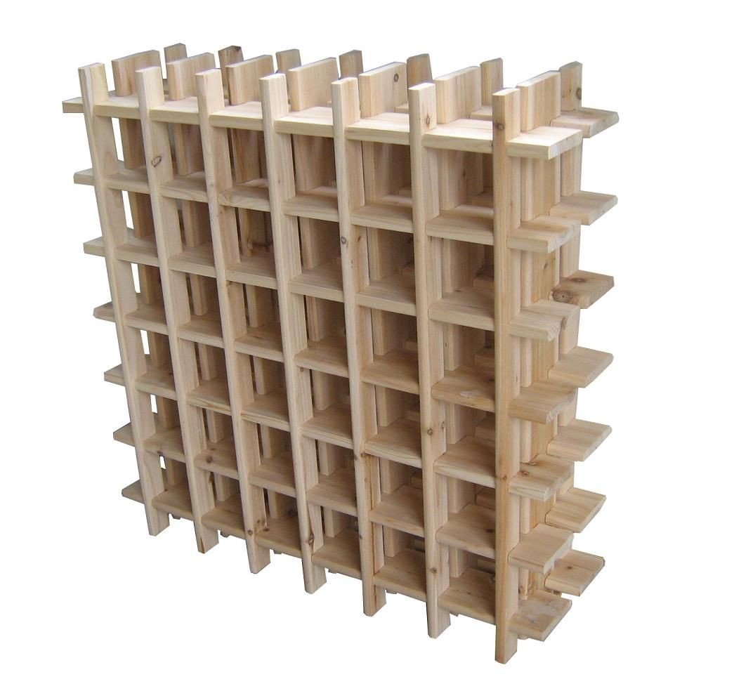Build Your Own Wood Wine Rack - http://www.instylecebu.com/build ...
