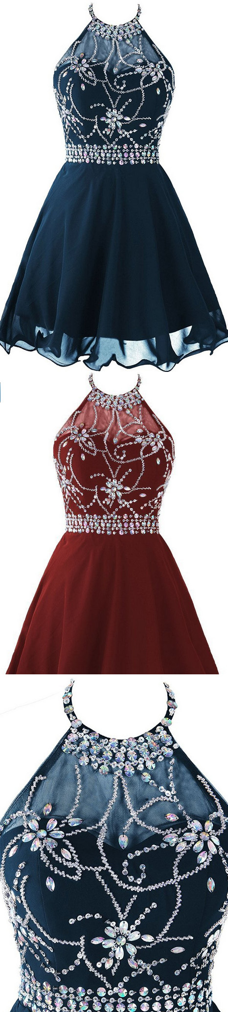 Cheap sleeveless dresses short black homecoming prom dresses with