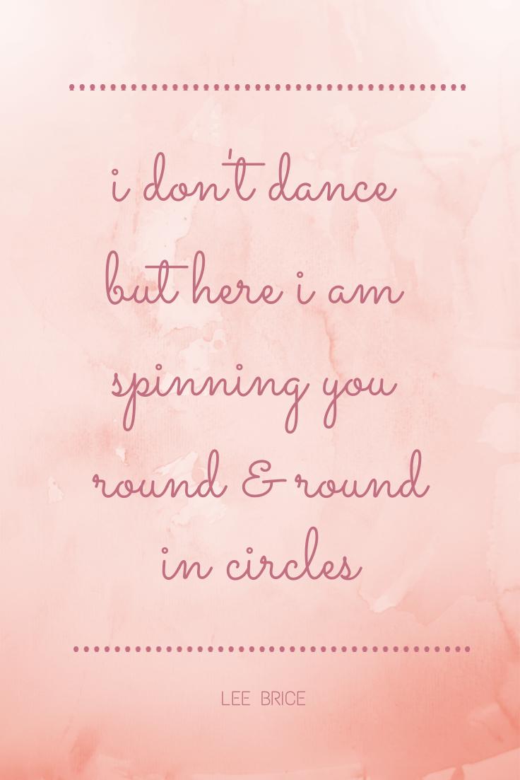 I Dont Dance
