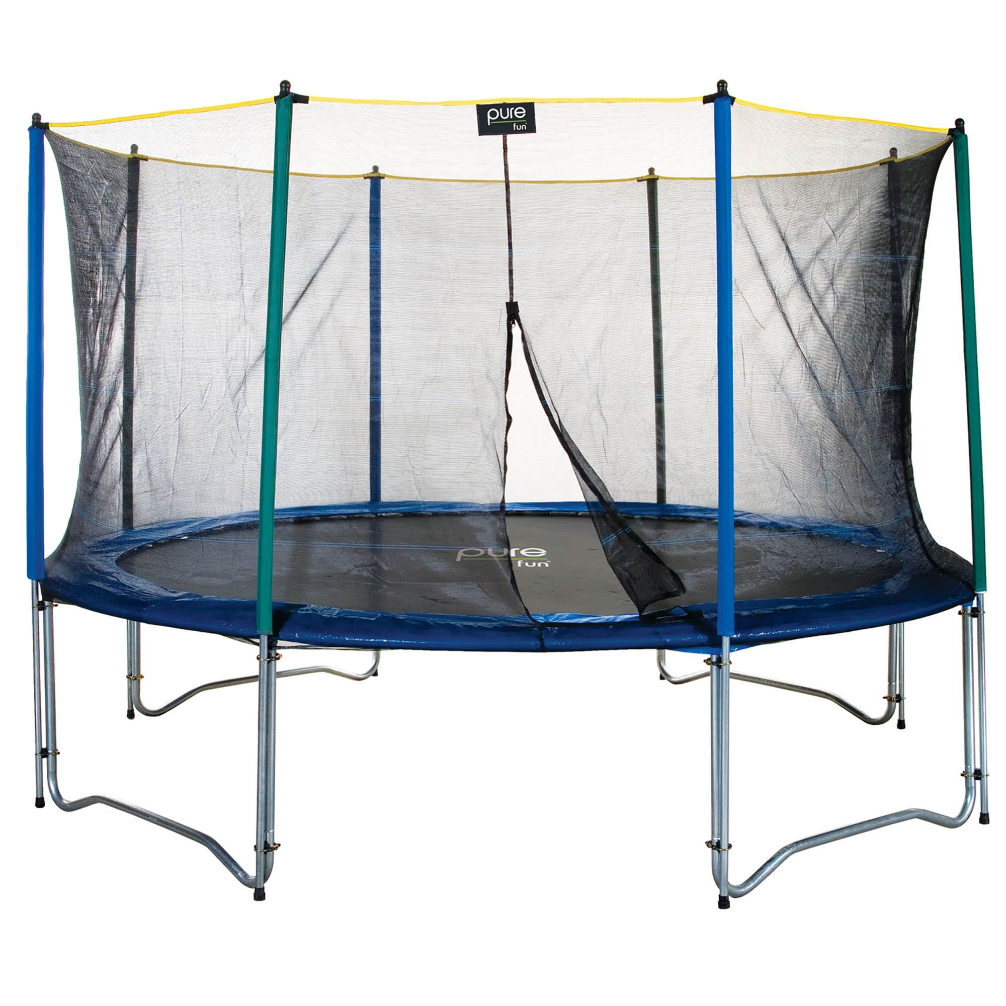Pure Fun 12ft Trampoline With Enclosure Trampoline Enclosure Trampoline Trampoline Safety