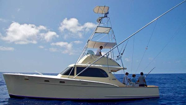 Humdinger charters 37 39 rybovich boat in kona hawaii for Kona deep sea fishing