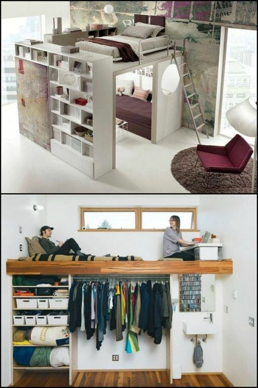 8 Ideas For Maximizing Small Bedroom Space Space Saving