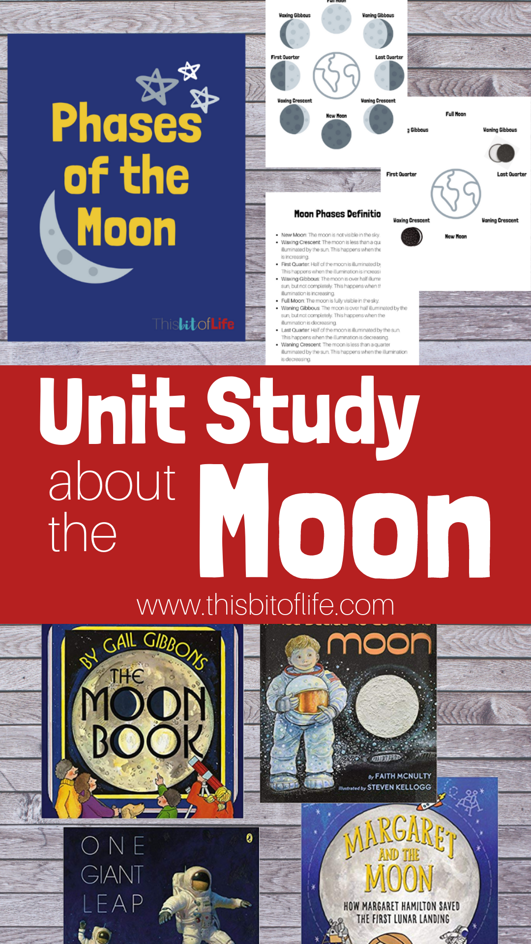 Photo of Unit Study About the Moon – This Bit of Life