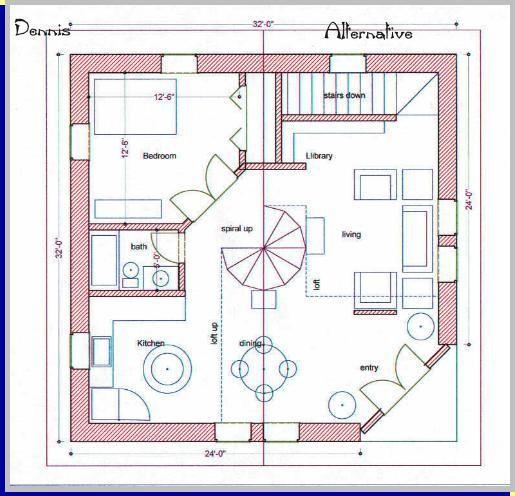 Shrink It Cob House Plans House Plans Small House Plans